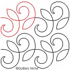 SCF-228 curls v2 quilting design xxx