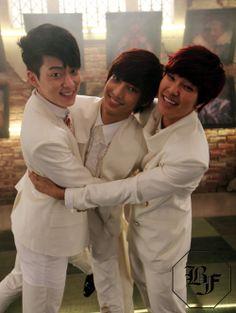 Boyfriend - Donghyun, Jeongmin, and Youngmin