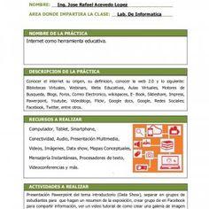 Universidad Abierta Para Adultos, UAPA Habilitación Docente / Ficha de Práctica Conocer el internet su origen, su definicion, conocer la web 0 y lo siguie. http://slidehot.com/resources/disenar-una-practica-docente-donde-se-utilicen-la-tecnologias-de-la-informacion-y-la-comunicacion.64803/