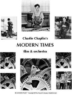 TIEMPOS MODERNOS (Modern Times)TIEMPOS MODERNOS (Modern Times) Charles Chaplin. Crítica a la industrializaión, el hombre convirtiéndose en máquina.