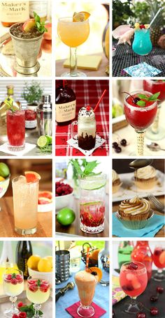 Enjoy these 16 Margarita Recipes as part of your Cinco de Mayo celebration! Is there really a better excuse to have a few (or more)? The margarita is one of my favorite cocktails and I love all the fresh fruit flavors for spring. Punch Recipe For A Crowd, Punch Recipes, Food For A Crowd, Drink Recipes, Smoothie Recipes, Smoothies, Sangria Recipes, Alcohol Recipes, Juice Smoothie