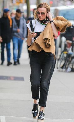 Diane Kruger looked stylish and splendid in a casual chic ensemble comprising of white blouse and stylish dungarees as she stepped out for a walk while listening to some music on her IPhone on March 24, 2016 in New York City. The German origin actress and model has recently opened up about her decision to join Instagram and how her posts on the social media portal have evolved over time to reflect her personality.