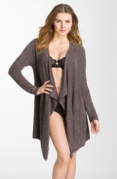 Barefoot Dreams® 'Bamboo Chic Lite' Wrap...I just got this and it is amazing! Feels like you are wearing the most comfortable, soft blanket!