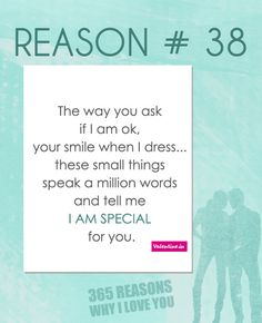 365 Reasons Why I Love You Quotes : 365 reasons why I love you on Pinterest Why i love you, Love quotes ...