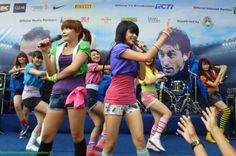 SuperGirlies at Inter Milan Indonesia Tour 2012