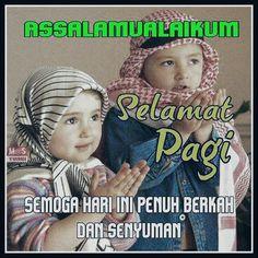 Good Morning Picture, Morning Pictures, Morning Images, Muslim Greeting, Assalamualaikum Image, Islam Muslim, Good Morning Greetings, Islamic Art, Children Photography