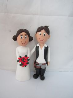 Aliexpress.com : Buy Free Shipping     Cheap Custom Handmade Personalised Star Wars Hans Solo and Princess Leia Wedding Cake Toppers from Reliable wedding cakes cake toppers suppliers on Robin Department Store $99.00