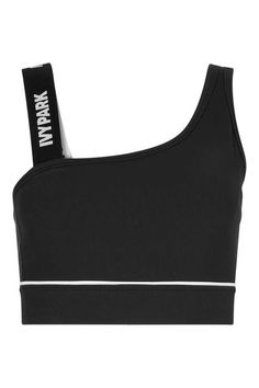 Asymmetric Ribbed Crop by Ivy Park