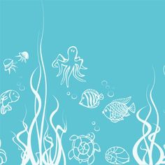 Under the Sea, Fish Wall Decals Nursery Children's Kids Room Boy's Removable Vinyl Wall Art Stickers Home Decor (White) DecalYourWall http://www.amazon.com/dp/B00DG7QXJ6/ref=cm_sw_r_pi_dp_Fad6wb1Z8B01F