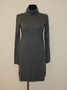 NEW! TUNIC DRESS PULLOVER DDP WOMEN'S GRAY Sz.M France #DDP #Tunic #Casual