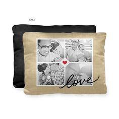 Love Grid Pillow   Custom Pillows   Home Decor   Shutterfly