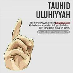PEMBAGIAN TAUHID DALAM ALQURAN: RUBUBIYAH, ULUHIYAH & ASMA WA SHIFAT