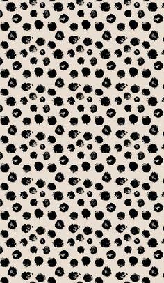 Little Woolf Fitted Crib Sheet in BeigeBlack Paint by littlewoolf Cute Wallpaper Backgrounds, Wallpaper Quotes, Cute Wallpapers, Wallpaper Ideas, Iphone Wallpapers, Iphone Background Wallpaper, Print Wallpaper, Blank Background, Trendy Wallpaper