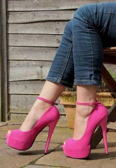 Shoe Fetish / Pink High Heel Shoe |↓Fashion Design Shoes|