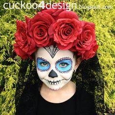 Found on cuckoo4design blogspot comHalf Sugar Skull Halloween Costume