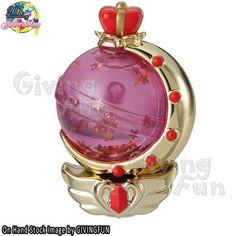Bandai Sailor Water Globe Perfume Bottle - Moon