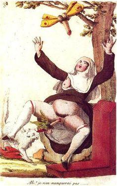 Regret, vintage erotic art painting very