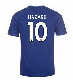 Billiga Chelsea Eden Hazard 10 Hemmatröja 17-18 Kortärmad Eden Hazard, Stamford, Chelsea Fc, Manchester United, Premier League, Barcelona, Sports, Man United, Sport