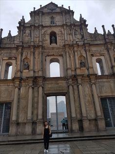 Paul of the Ruins, Macau Macau, Soul Food, Louvre, Building, Travel, Buildings, Viajes, Destinations, Traveling