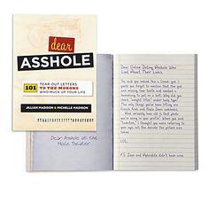 Dear Asshole | Books | Gifts | Z Gallerie