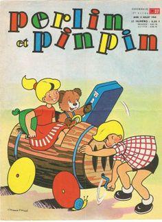 couverture de Perlin et Pinpin. 1965.