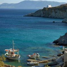 Kimolos greece Greek Islands, Greece, Landscapes, To Go, Boat, Country, Water, Places, Outdoor
