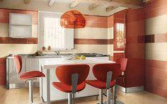 cocinas modernas colores
