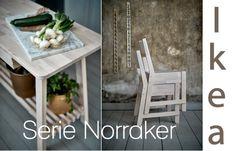 Serie NORRAKER Ikea, puro stile scandinavo