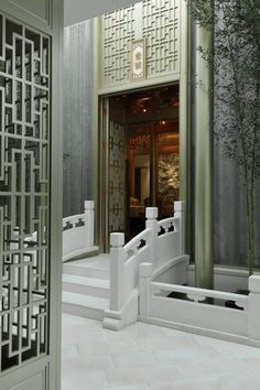 Centuries of rich culture expressed in interior design. The best chinese interiors to boost your inspiration Great decor ideas! Asian Interior Design, Asian Design, Restaurant Interior Design, Design Hotel, Modern Chinese Interior, Chinese Design, Chinese Style, Chinese Architecture, Interior Architecture