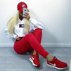 Nike Outfits – Page 2738061288 – Lady Dress Designs Legging Outfits, Sporty Outfits, Nike Outfits, Swag Outfits, Fall Outfits, Summer Outfits, Dinner Outfits, Workout Outfits, Cute Fashion