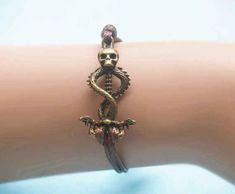 Dark Mark Bracelet, $1.99   56 Totally Wearable Harry Potter-Themed Accessories
