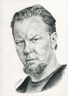 James Hetfield by Wojzym.deviantart.com on @DeviantArt