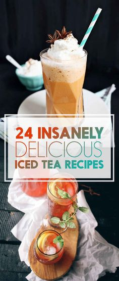 Totally Delicious Ways To Upgrade Your Iced Tea How do I love thee, Iced Tea? Let me count the ways.How do I love thee, Iced Tea? Let me count the ways. Smothie, Brunch Drinks, Cocktails, Ice Tea Drinks, Cold Drinks, Catering, Iced Tea Recipes, Non Alcoholic Drinks, Beverages