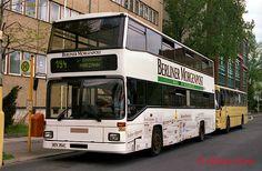 1997 Omnibus der BVG in Lichtenberg (Lueckstrasse) Berlin, Dvb Dresden, S Bahn, Busse, Public Transport, Transportation, Germany, Pictures, Brandenburg