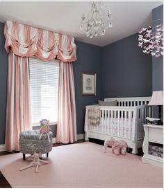Love this idea for a baby girl nursery theme!