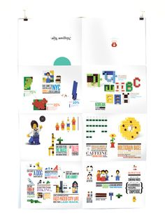 Self Promotion by Heegyum Kim, via Behance
