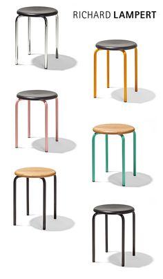 chair h57 and trolley barwagen by herbert hirche. Black Bedroom Furniture Sets. Home Design Ideas
