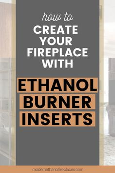 Ethanol inserts, easy to set up and install. Shop our large selection of manual and automatic ethanol inserts today!