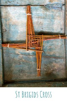 Make your own Brigids Cross with willow reeds, DIY Brigids Cross, willow Brigids Cross, celebrate St Brigid . St Brigid Cross, Brigid's Cross, St Bridget, Pagan Festivals, Irish Mythology, Color Crafts, Arts And Crafts Projects, Coven, Diy For Kids