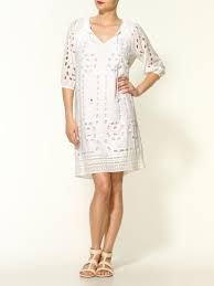 shift cotton eyelet dress - Google Search