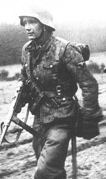 Ernst Kalt Poteau 18 Dec 1944 Ardennenoffensive Kampfgruppe Hansen