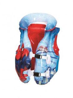 Bestway 98014 Vesta, Spider-Man, 51x46 cm, detská Spiderman, Monsieur Madame, Donald Duck, Baby Car Seats, Disney Characters, Children, Jouer, Armband, Kid