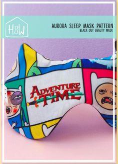 Free Sewing Pattern: Aurora Sleep Mask