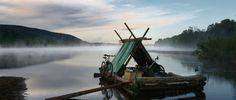 Floßfahrt auf dem Klarälven - Idylle pur