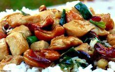 Cashew Kung Pao Chicken NoblePig.com via @noblepig