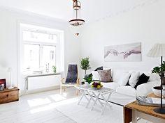 Puxe a Cadeira e Sente!: Uma combinação maravilhosa de decoração moderna e clássica que surpreende em 65 metros quadrados!