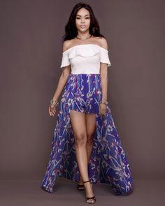 6339ba85d7a White Off-shoulder Sexy Printed Skirt Dress - Vinshar Group Lingerie