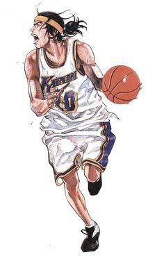New basket ball ilustration slam dunk ideas Comic Manga, Anime Comics, Anime Manga, Character Concept, Character Art, Character Design, Manga Artist, Comic Artist, Basketball Manga