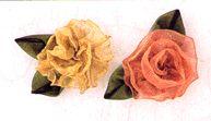 Offray Ribbon Rose