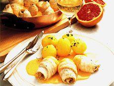 Filets de sole sauce pamplemousse